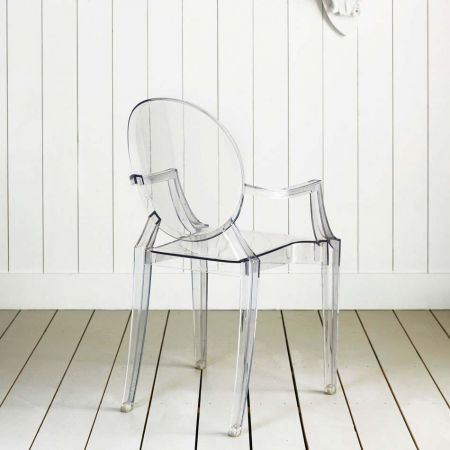Kartell Louis Crystal Ghost Chair - Thumbnail