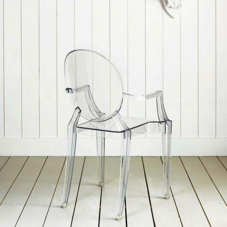Kartell Louis Crystal Ghost Chair - Thumbnail