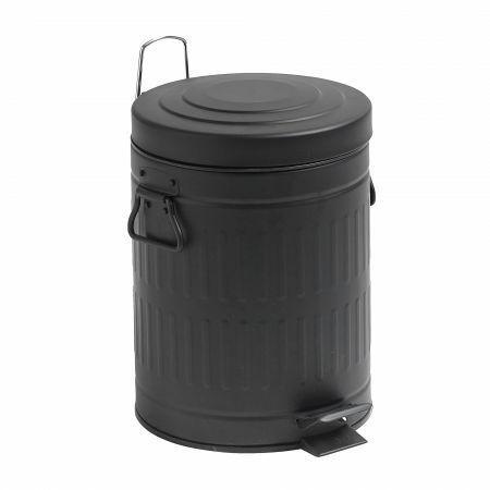 Black 5L Pedal Bin
