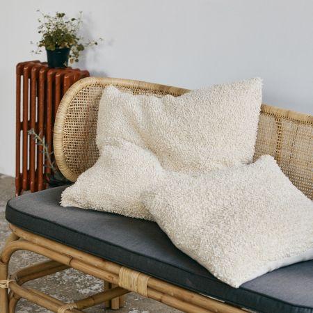 Loop Knitted Cushion