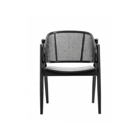 Andreas Rattan Lounge Chair