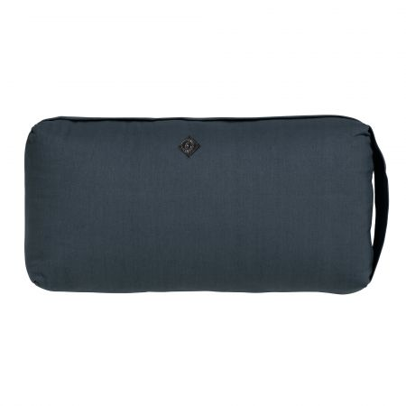 Small Dark Blue Yoga Bolster