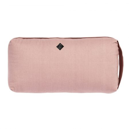 Small Pale Pink Yoga Bolster