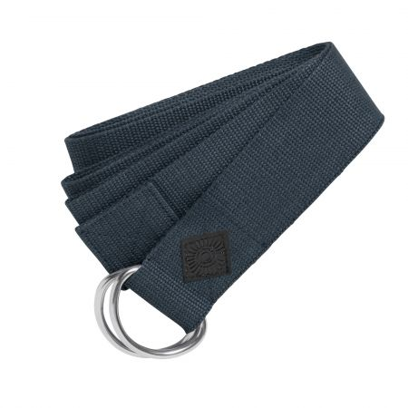 Dark Blue Yoga Belt
