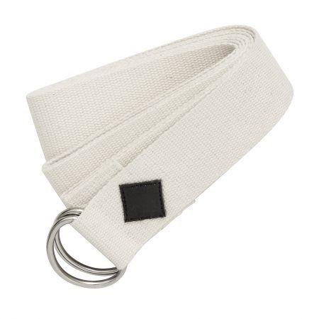 Cream Yoga Belt
