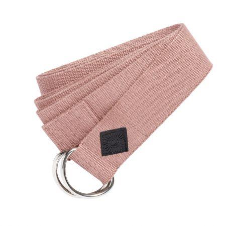 Pale Pink Yoga Belt