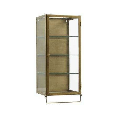 Marie Tall Glass Cabinet