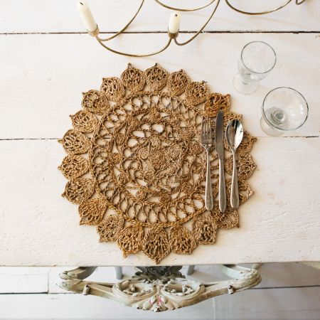 Patterned Grass Placemat