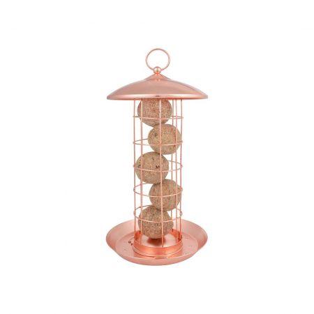 Copper Suet Ball Bird Feeder