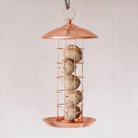 Copper Suet Bird Feeder