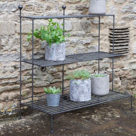 Barrington Steel Plant Stand