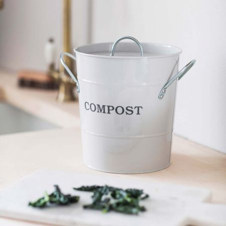 Chalk Compost Bucket