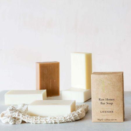 Lavender Raw Honey Soap Bar