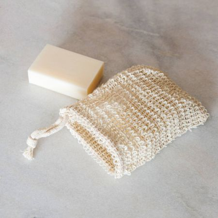Cotton and Hemp Soap Bag