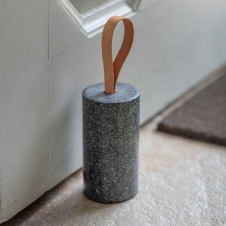 Polished Granite Doorstop