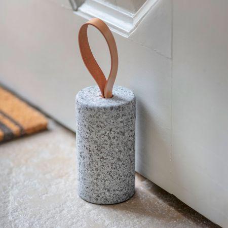 Raw Granite Doorstop