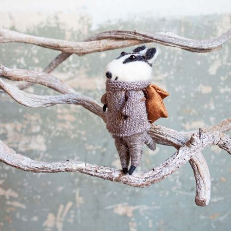 Ben the Badger Decoration - Thumbnail