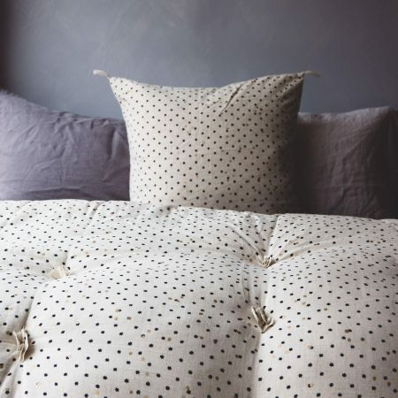 Blue Star Print Bed Roll