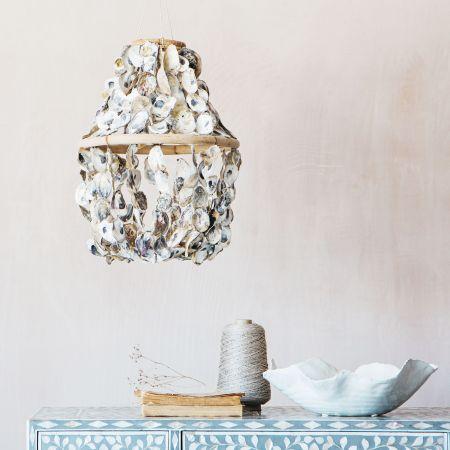 Oyster Shell Light Decoration