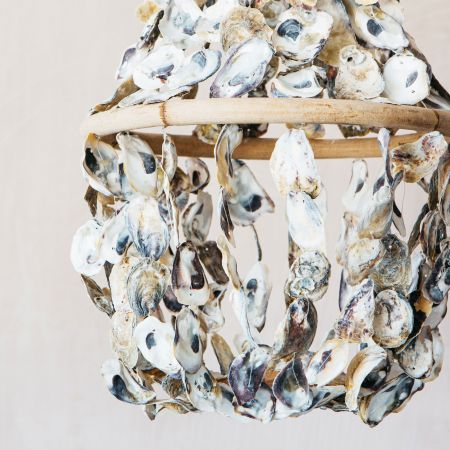 Oyster Shell Light Decoration