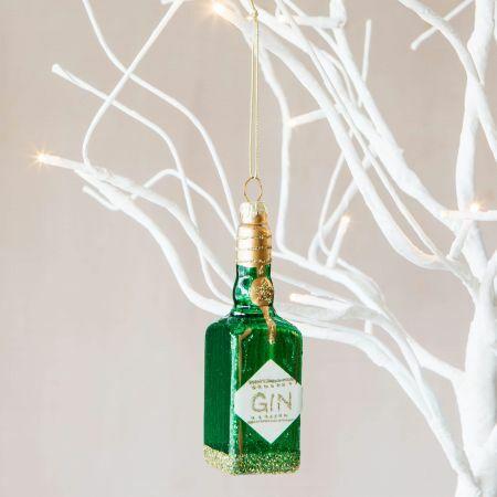 Gin Bottle Decoration