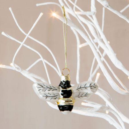 Glass Bumblebee Decoration