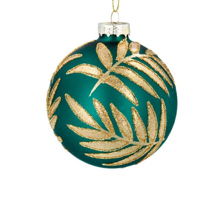 Green Leaves Bauble