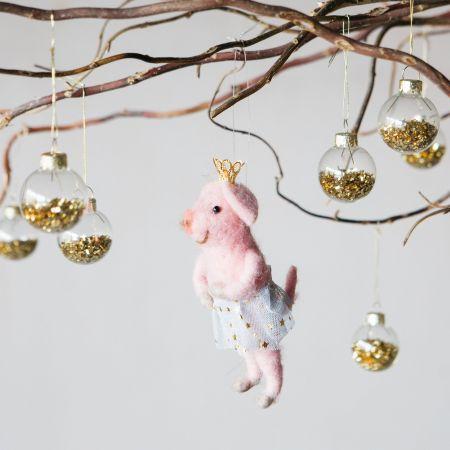 Belinda Ballerina Pig Decoration