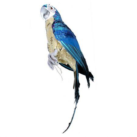Patrick Gold Sequin Parrot