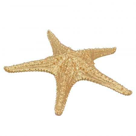Textured Gold Starfish Ornament