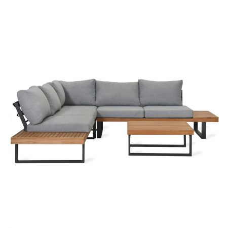 Amberley Teak Outdoor Sofa Set
