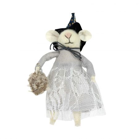 Witch Mouse Decoration