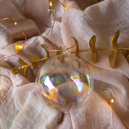 Small Clear Soap Bauble