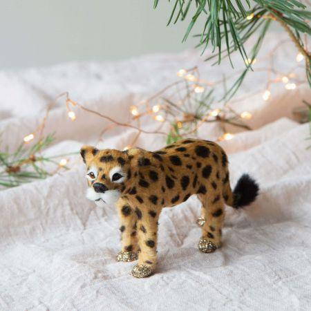 Carlo the Cheetah Faux Fur Decoration
