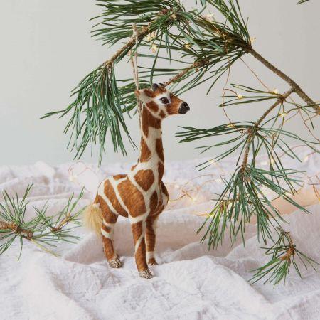 Greg the Giraffe Faux Fur Decoration