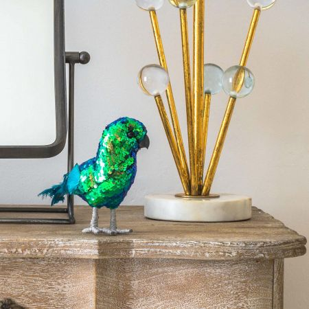 Pebbles the Sequined Parrot