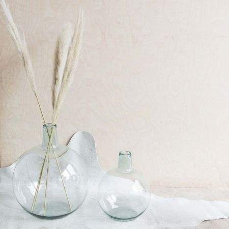 Recycled Glass Stem Vases