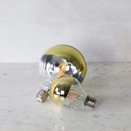 Large Gold Crown Retro Bulb - Thumbnail