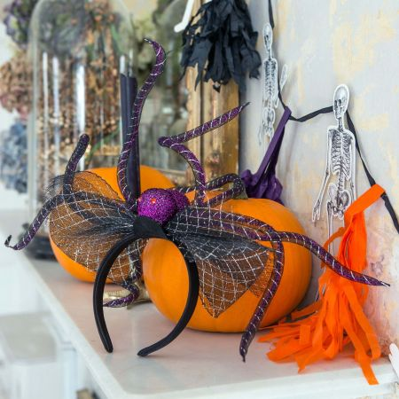 Purple Spider Headband