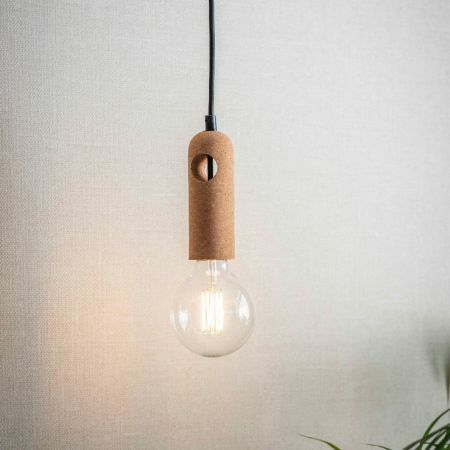 Cork Pendant Light