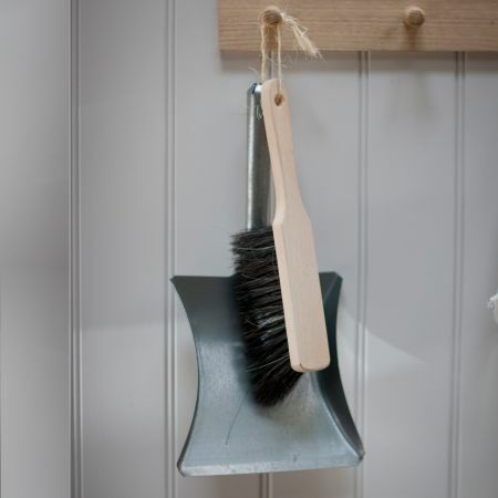 Steel Dustpan and Brush