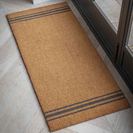 Triple Stripe Double Doormat