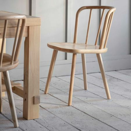 Set of Two Ash Uley Chairs