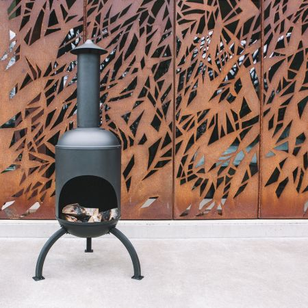 Sarsden Steel Log Burner