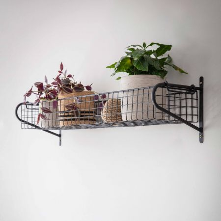 Large Wire Hanging Shelf