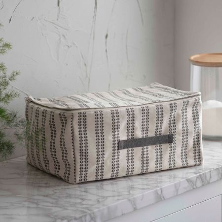 Geo Stripe Small Under Bed Storage
