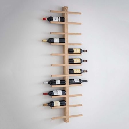 Oak Woodstock Wine Rack