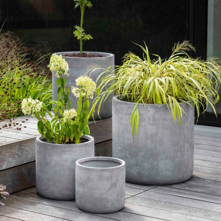Set of Four Fibreclay Planters