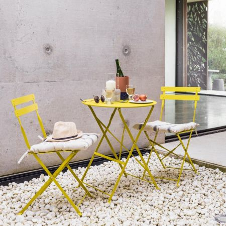 Yellow Rive Droite Bistro Set