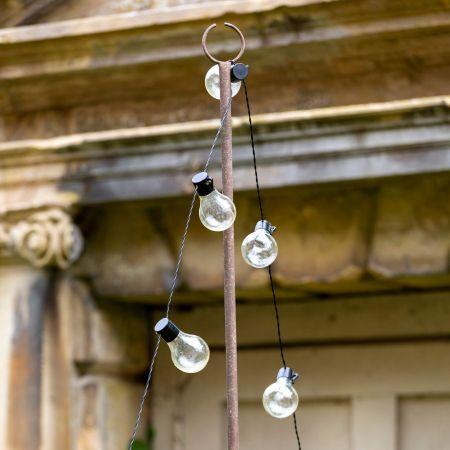 Festoon Lights Pole
